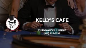 Casino & gambling-themed header image for Barons Bus Charter service to Kelly's Cafe in Channahon, Illinois. Please call 8158285149 to contact the casino directly.)