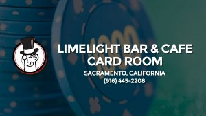 Casino & gambling-themed header image for Barons Bus Charter service to Limelight Bar & Cafe Card Room in Sacramento, California. Please call 9164452208 to contact the casino directly.)