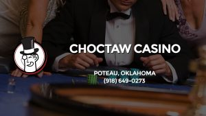 Casino & gambling-themed header image for Barons Bus Charter service to Choctaw Casino in Poteau, Oklahoma. Please call 9186490273 to contact the casino directly.)