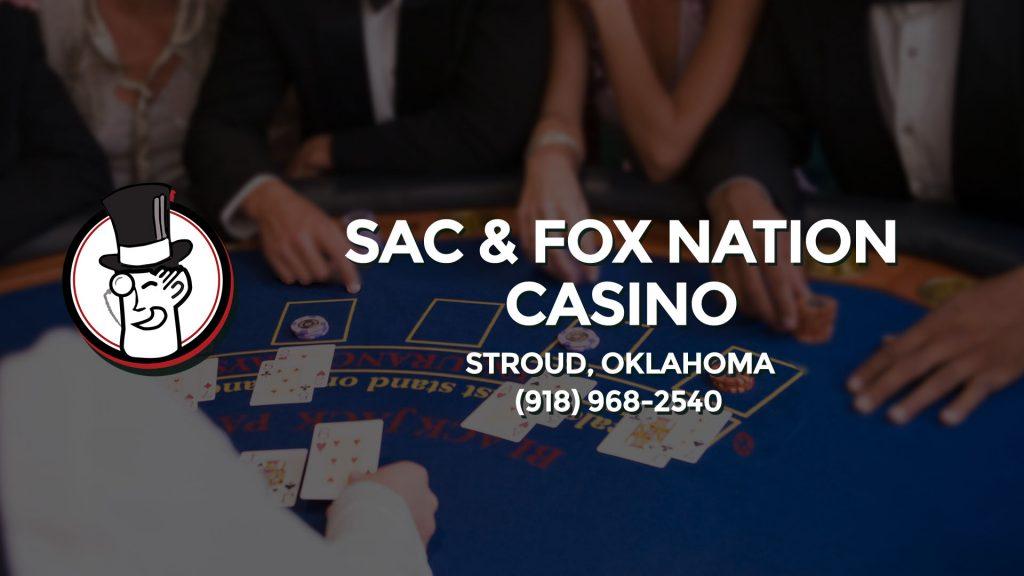 Sac and fox nation casino stroud ok ogni singolo giorno casino royale
