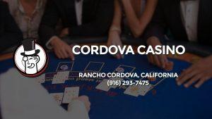 Casino & gambling-themed header image for Barons Bus Charter service to Cordova Casino in Rancho Cordova, California. Please call 9162937475 to contact the casino directly.)