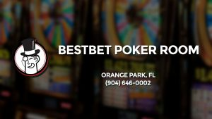 Casino & gambling-themed header image for Barons Bus Charter service to Bestbet Poker Room in Orange Park, Fl. Please call 9046460002 to contact the casino directly.)