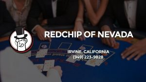 Casino & gambling-themed header image for Barons Bus Charter service to Redchip Of Nevada in Irvine, California. Please call 9492239828 to contact the casino directly.)