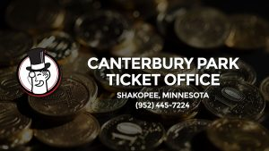 Casino & gambling-themed header image for Barons Bus Charter service to Canterbury Park Ticket Office in Shakopee, Minnesota. Please call 9524457224 to contact the casino directly.)