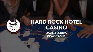 Casino & gambling-themed header image for Barons Bus Charter service to Hard Rock Hotel Casino in Davie, Florida. Please call 9545855112 to contact the casino directly.)