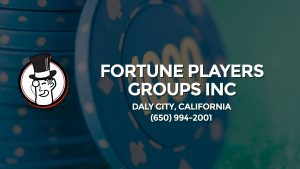 Casino & gambling-themed header image for Barons Bus Charter service to Fortune Players Groups Inc in Daly City, California. Please call 6509942001 to contact the casino directly.)
