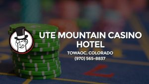 Casino & gambling-themed header image for Barons Bus Charter service to Ute Mountain Casino Hotel in Towaoc, Colorado. Please call 9705658837 to contact the casino directly.)