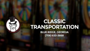 Casino & gambling-themed header image for Barons Bus Charter service to Classic Transportation Tours in Blue Ridge, Georgia. Please call 7066333668 to contact the casino directly.)