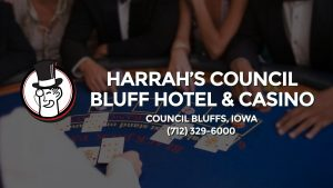 Casino & gambling-themed header image for Barons Bus Charter service to Harrah's Council Bluff Hotel & Casino in Council Bluffs, Iowa. Please call 7123296000 to contact the casino directly.)