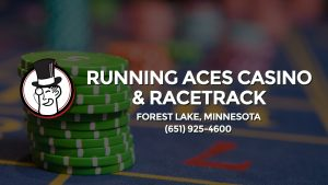 Casino & gambling-themed header image for Barons Bus Charter service to Running Aces Casino & Racetrack in Forest Lake, Minnesota. Please call 6519254600 to contact the casino directly.)