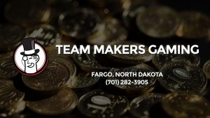 Casino & gambling-themed header image for Barons Bus Charter service to Team Makers Gaming in Fargo, North Dakota. Please call 7012823905 to contact the casino directly.)