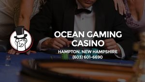 Casino & gambling-themed header image for Barons Bus Charter service to Ocean Gaming Casino in Hampton, New Hampshire. Please call 6036016690 to contact the casino directly.)