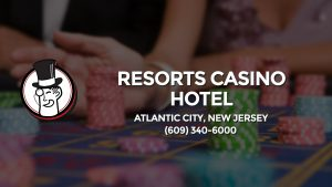 Casino & gambling-themed header image for Barons Bus Charter service to Resorts Casino Hotel in Atlantic City, New Jersey. Please call 6093406000 to contact the casino directly.)
