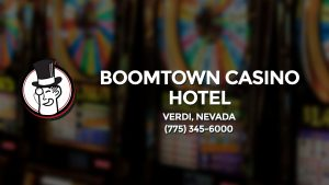 Casino & gambling-themed header image for Barons Bus Charter service to Boomtown Casino Hotel in Verdi, Nevada. Please call 7753456000 to contact the casino directly.)