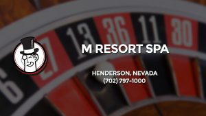 Casino & gambling-themed header image for Barons Bus Charter service to M Resort Spa in Henderson, Nevada. Please call 7027971000 to contact the casino directly.)