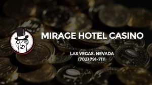 Casino & gambling-themed header image for Barons Bus Charter service to Mirage Hotel Casino in Las Vegas, Nevada. Please call 7027917111 to contact the casino directly.)