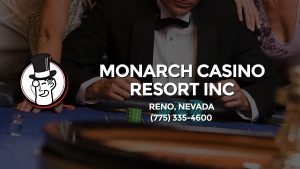 Casino & gambling-themed header image for Barons Bus Charter service to Monarch Casino Resort Inc in Reno, Nevada. Please call 7753354600 to contact the casino directly.)
