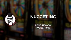 Casino & gambling-themed header image for Barons Bus Charter service to Nugget Inc in Reno, Nevada. Please call 7753230716 to contact the casino directly.)