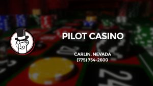 Casino & gambling-themed header image for Barons Bus Charter service to Pilot Casino in Carlin, Nevada. Please call 7757542600 to contact the casino directly.)