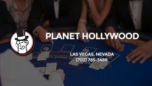 Casino & gambling-themed header image for Barons Bus Charter service to Planet Hollywood in Las Vegas, Nevada. Please call 7027855488 to contact the casino directly.)