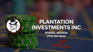 Casino & gambling-themed header image for Barons Bus Charter service to Plantation Investments Inc in Sparks, Nevada. Please call 7753599440 to contact the casino directly.)