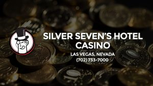 Casino & gambling-themed header image for Barons Bus Charter service to Silver Seven's Hotel Casino in Las Vegas, Nevada. Please call 7027337000 to contact the casino directly.)