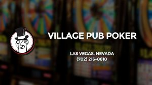 Casino & gambling-themed header image for Barons Bus Charter service to Village Pub Poker in Las Vegas, Nevada. Please call 7022160810 to contact the casino directly.)
