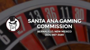 Casino & gambling-themed header image for Barons Bus Charter service to Santa Ana Gaming Commission in Bernalillo, New Mexico. Please call 5058673489 to contact the casino directly.)