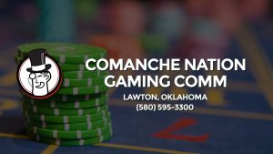 Casino & gambling-themed header image for Barons Bus Charter service to Comanche Nation Gaming Comm in Lawton, Oklahoma. Please call 5805953300 to contact the casino directly.)