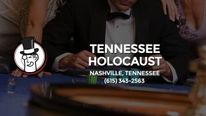 Casino & gambling-themed header image for Barons Bus Charter service to Tennessee Holocaust Commission in Nashville, Tennessee. Please call 6153432563 to contact the casino directly.)