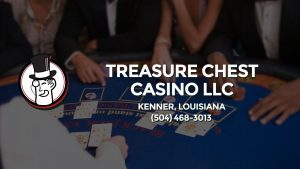 Casino & gambling-themed header image for Barons Bus Charter service to Treasure Chest Casino Llc in Kenner, Louisiana. Please call 5044683013 to contact the casino directly.)