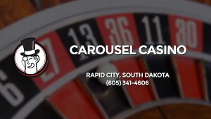 Casino & gambling-themed header image for Barons Bus Charter service to Carousel Casino in Rapid City, South Dakota. Please call 6053414606 to contact the casino directly.)