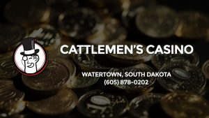 Casino & gambling-themed header image for Barons Bus Charter service to Cattlemen's Casino in Watertown, South Dakota. Please call 6058780202 to contact the casino directly.)