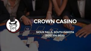 Casino & gambling-themed header image for Barons Bus Charter service to Crown Casino in Sioux Falls, South Dakota. Please call 6053348020 to contact the casino directly.)