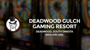 Casino & gambling-themed header image for Barons Bus Charter service to Deadwood Gulch Gaming Resort in Deadwood, South Dakota. Please call 6055781294 to contact the casino directly.)