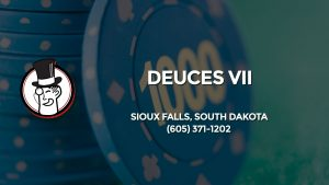 Casino & gambling-themed header image for Barons Bus Charter service to Deuces Vii in Sioux Falls, South Dakota. Please call 6053711202 to contact the casino directly.)