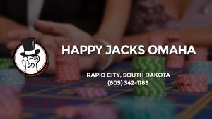 Casino & gambling-themed header image for Barons Bus Charter service to Happy Jacks Omaha in Rapid City, South Dakota. Please call 6053421183 to contact the casino directly.)