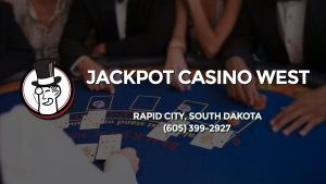 Casino & gambling-themed header image for Barons Bus Charter service to Jackpot Casino West in Rapid City, South Dakota. Please call 6053992927 to contact the casino directly.)
