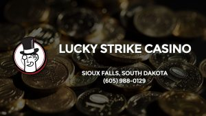 Casino & gambling-themed header image for Barons Bus Charter service to Lucky Strike Casino in Sioux Falls, South Dakota. Please call 6059880129 to contact the casino directly.)