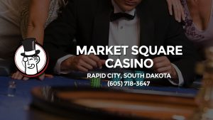 Casino & gambling-themed header image for Barons Bus Charter service to Market Square Casino in Rapid City, South Dakota. Please call 6057183647 to contact the casino directly.)