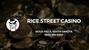 Casino & gambling-themed header image for Barons Bus Charter service to Rice Street Casino in Sioux Falls, South Dakota. Please call 6053346330 to contact the casino directly.)