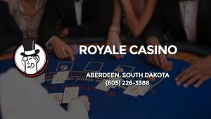 Casino & gambling-themed header image for Barons Bus Charter service to Royale Casino in Aberdeen, South Dakota. Please call 6052263388 to contact the casino directly.)