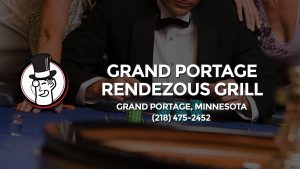Casino & gambling-themed header image for Barons Bus Charter service to Grand Portage Rendezous Grill in Grand Portage, Minnesota. Please call 2184752452 to contact the casino directly.)