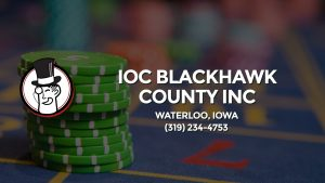 Casino & gambling-themed header image for Barons Bus Charter service to Ioc Blackhawk County Inc in Waterloo, Iowa. Please call 3192344753 to contact the casino directly.)