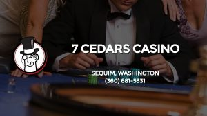 Casino & gambling-themed header image for Barons Bus Charter service to 7 Cedars Casino in Sequim, Washington. Please call 3606815331 to contact the casino directly.)