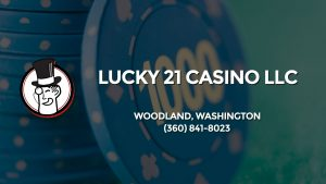 Casino & gambling-themed header image for Barons Bus Charter service to Lucky 21 Casino Llc in Woodland, Washington. Please call 3608418023 to contact the casino directly.)