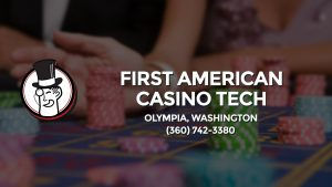 Casino & gambling-themed header image for Barons Bus Charter service to First American Casino Tech in Olympia, Washington. Please call 3607423380 to contact the casino directly.)