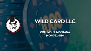 Casino & gambling-themed header image for Barons Bus Charter service to Wild Card Llc in Columbus, Montana. Please call 4063221136 to contact the casino directly.)