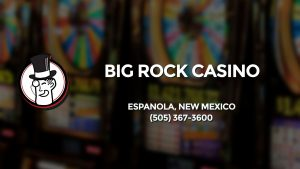 Casino & gambling-themed header image for Barons Bus Charter service to Big Rock Casino in Espanola, New Mexico. Please call 5053673600 to contact the casino directly.)