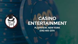 Casino & gambling-themed header image for Barons Bus Charter service to Casino Entertainment in Plainview, New York. Please call 5164652014 to contact the casino directly.)